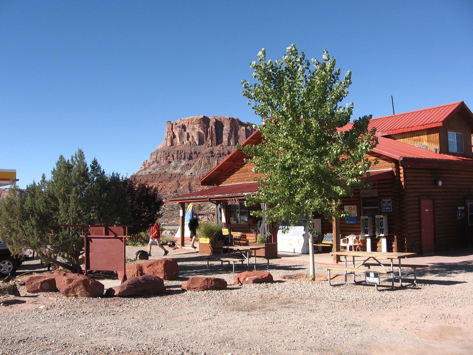 Archview rv resort moab utah for Moab utah cabins