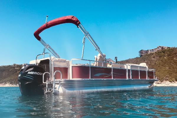 Pictures may not represent the exact boat. All of our pontoon boats are similar models with similar seating and layouts