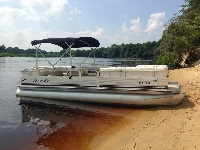 Bentley 240 Cruise 24'  Pontoon