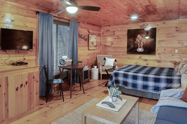 Little Cabin 1 - Living space