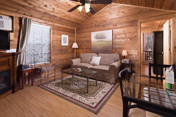 Cottages 11 and 12 offer a more rustic feel