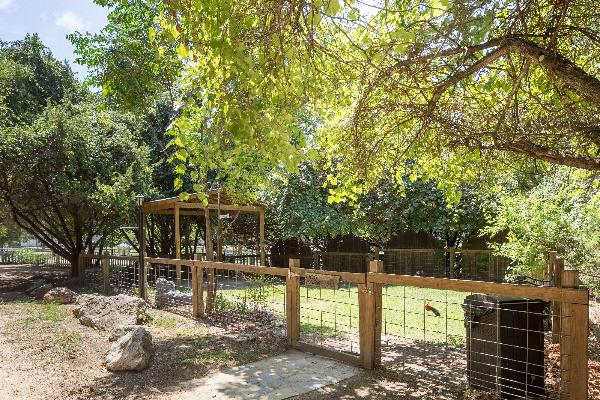 We're pet friendly! Fenced dog park on site
