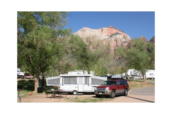 Private camp sites