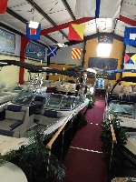 Our new boat showroom!