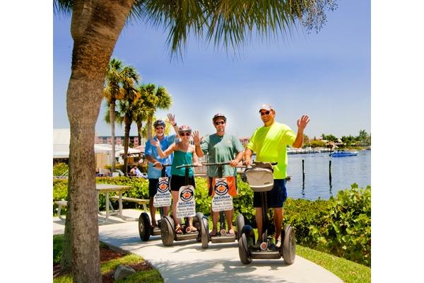 Segwaying through our beautiful parks