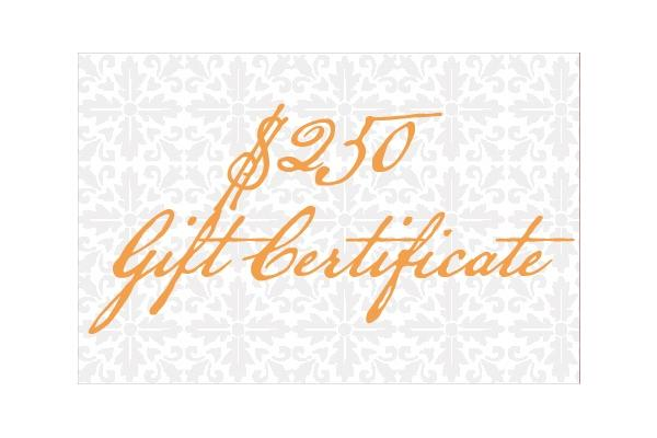 $250 Glen House Inn Gift Certificate