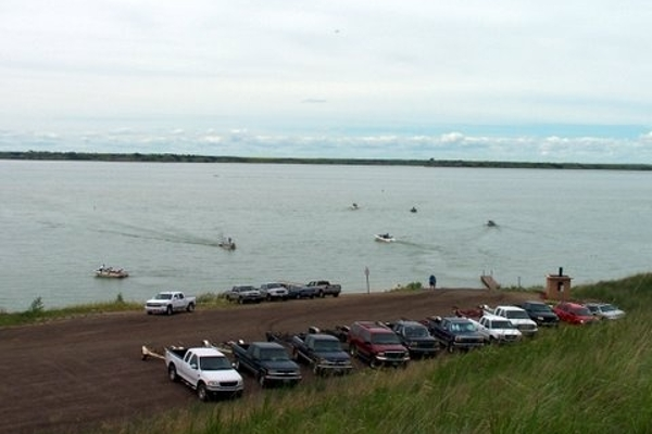 Great times on Lake Sakakawea!