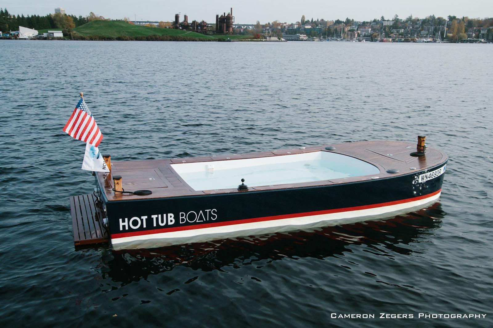 Hot Tub Boats - Seattle, Washington