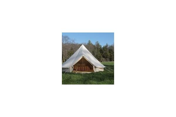 Exterior of Glamping Tents