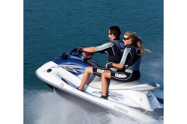 Our VX Yamaha Waverunners!  Fast and fun!