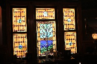 Dining Room Stained Glass Windows