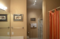 Master Bathroom with shower and tub