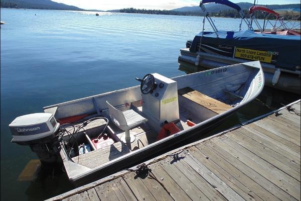 North shore landing fawnskin california for Round fishing boat