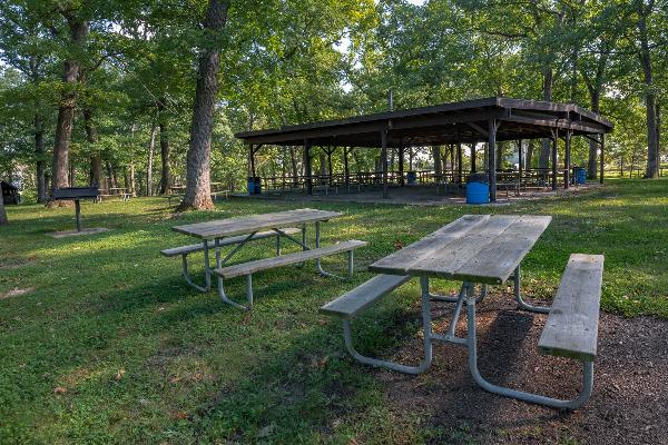 Open picnic area, no shelter - 50 people maximum