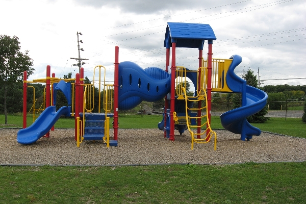 You will find great playgrounds in our parks