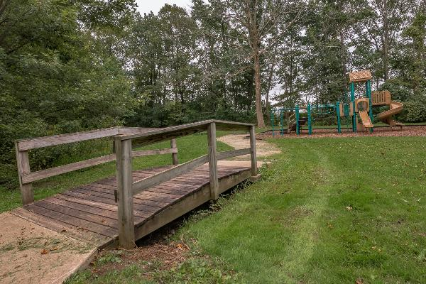 Playground area for children between open picnic area # 3 and shelter
