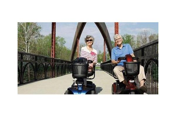 standard scooter rental orlando couple