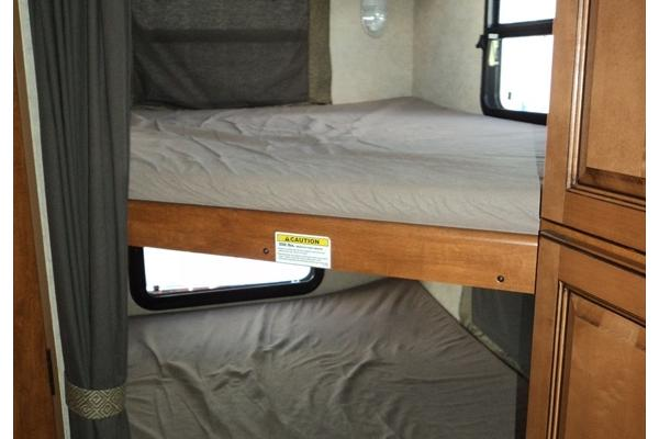 Two Full Size Bunk Beds in Rear
