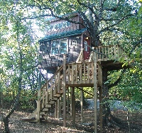 White Oak tree house - Sleeps 4-6 people