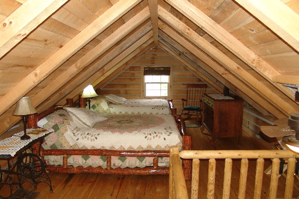 Sassafras Ridge Log Cabin Loft