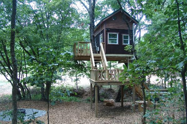 Maple Oak tree house - Sleep 2-4 people