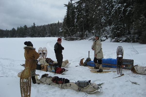NWTC ~ Paddlers Gathering & Snow Walkers